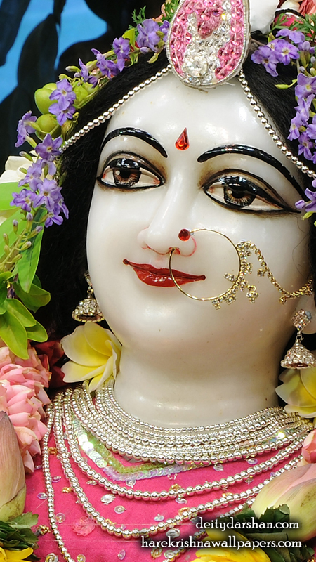 Srimati Radharani Close up Wallpaper (110) Size 450x800 Download