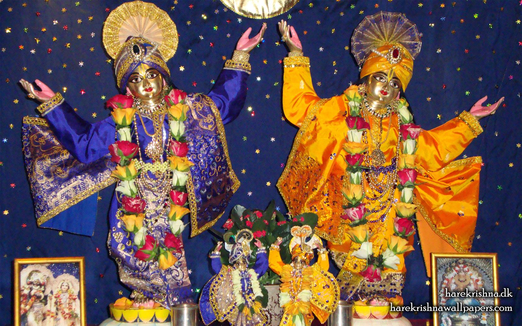 Sri Sri Gaura Nitai Wallpaper (001) Size 1680x1050 Download