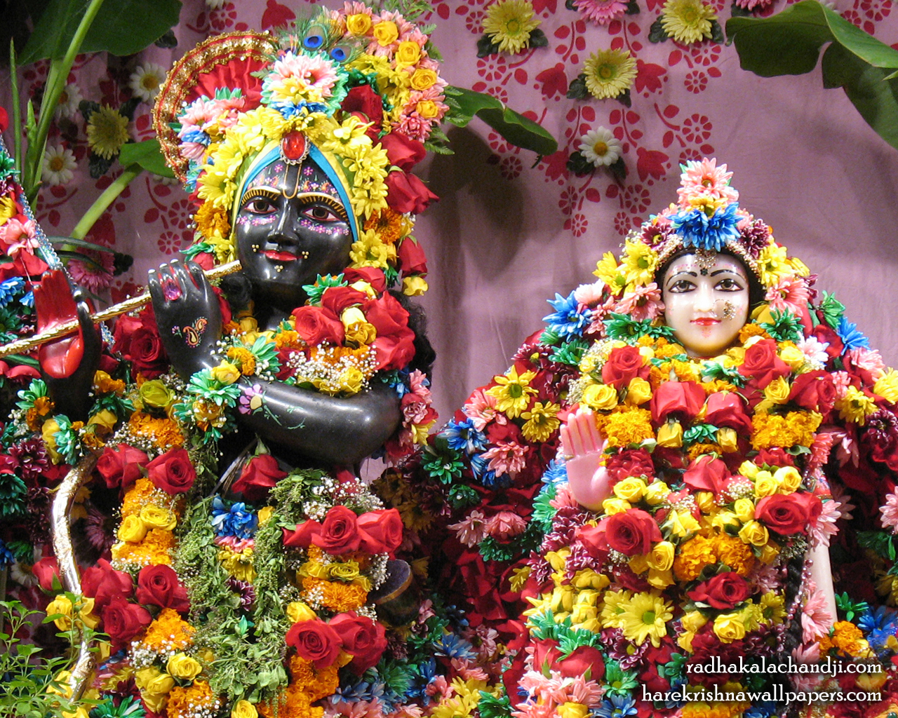 Sri Sri Radha Kalachanda Close up Wallpaper (001) Size 1280x1024 Download