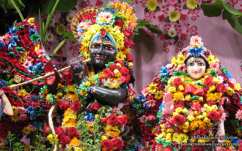 Sri Sri Radha Kalachanda Close up Wallpaper (001) Size 1440x900 Download