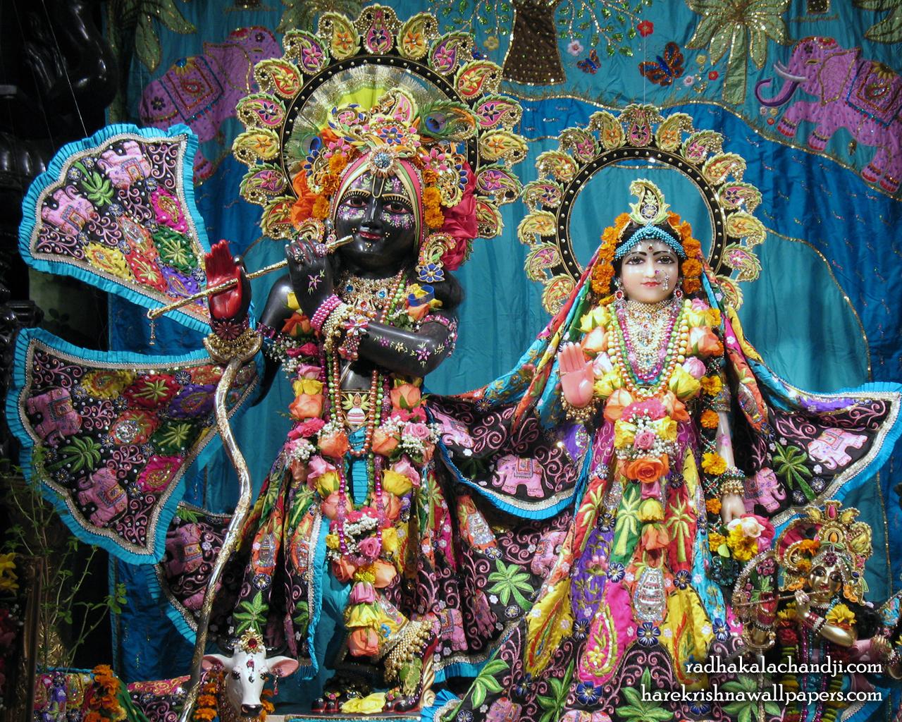 Sri Sri Radha Kalachanda Wallpaper (005) Size 1280x1024 Download