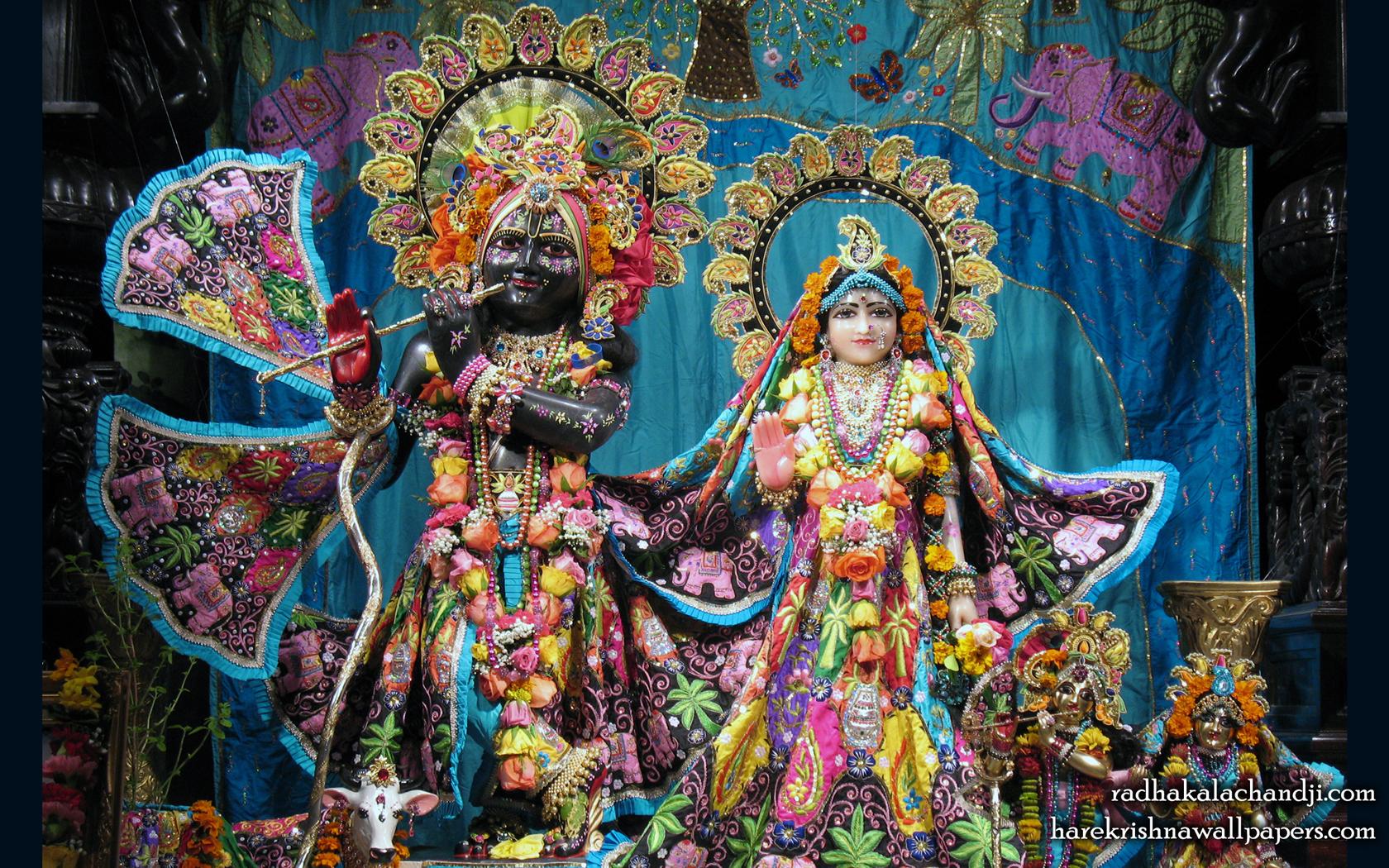 Sri Sri Radha Kalachanda Wallpaper (005) Size 1680x1050 Download