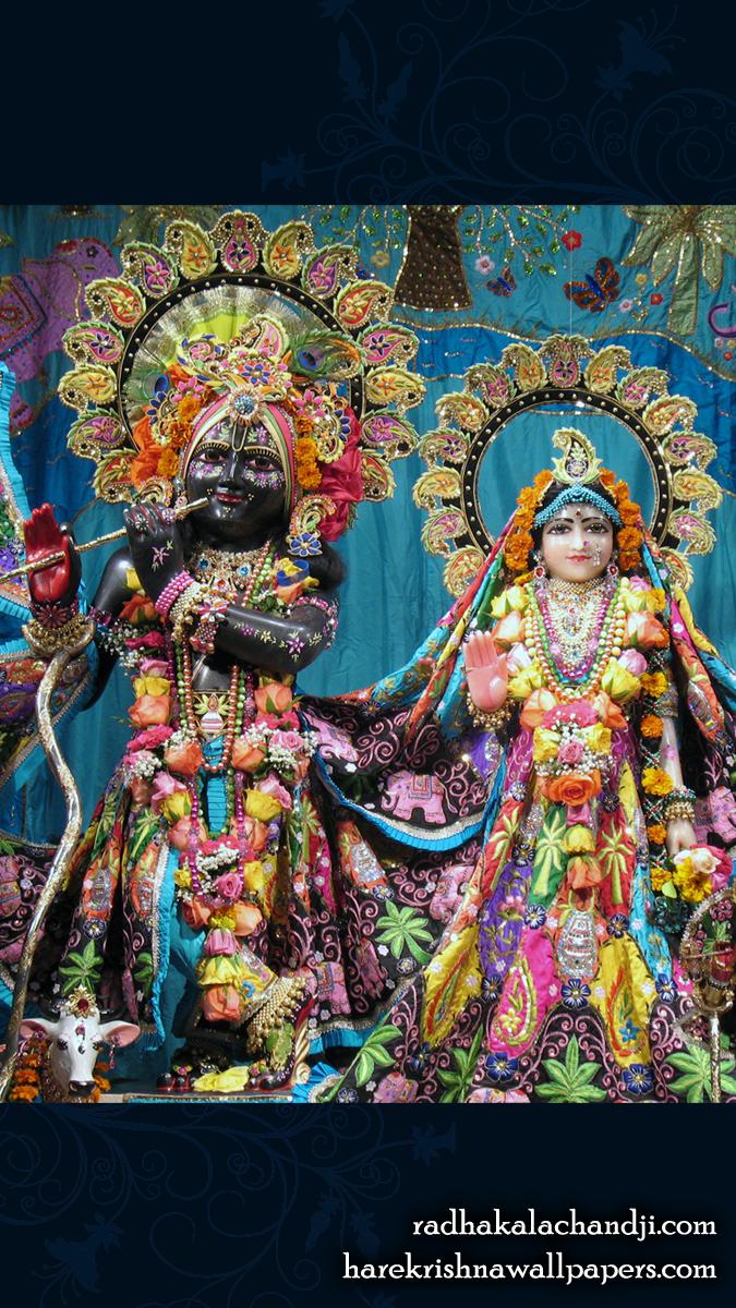 Sri Sri Radha Kalachanda Wallpaper (005) Size 675x1200 Download