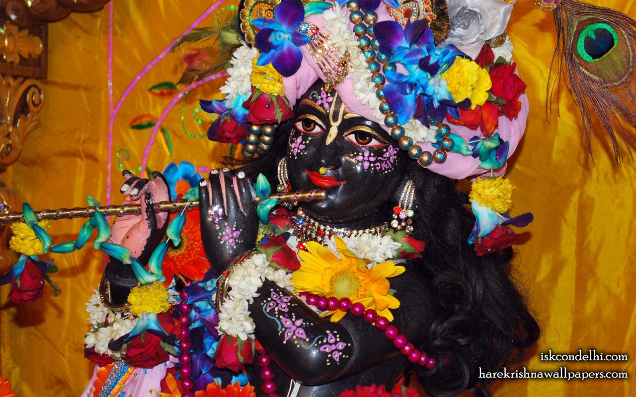 Sri Parthasarathi Close up Wallpaper (001) Size 1280x800 Download