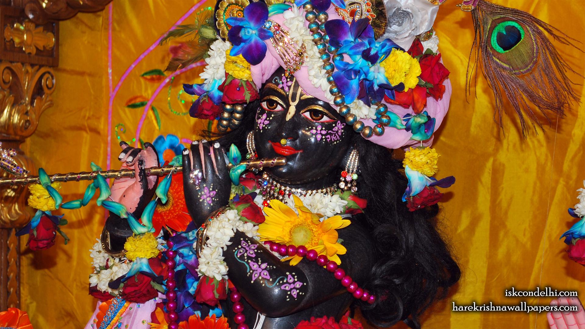 Sri Parthasarathi Close up Wallpaper (001) Size 1920x1080 Download