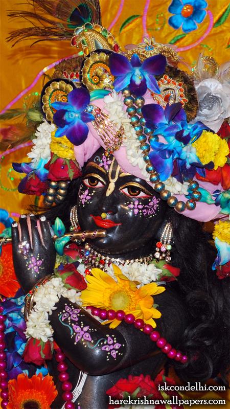 Sri Parthasarathi Close up Wallpaper (001) Size 450x800 Download