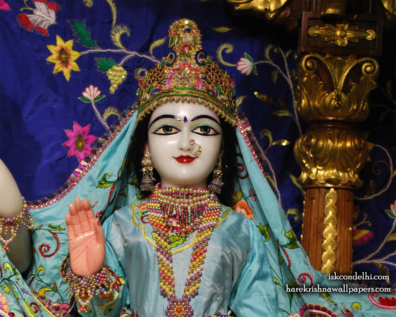 Sri Sita Close up Wallpaper (001) Size 1280x1024 Download