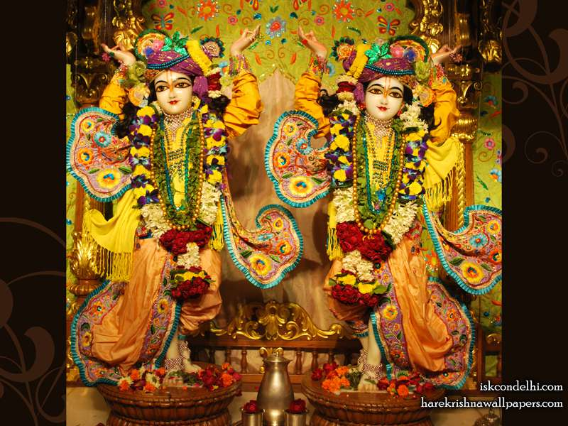 Sri Sri Gaura Nitai Wallpaper (001)