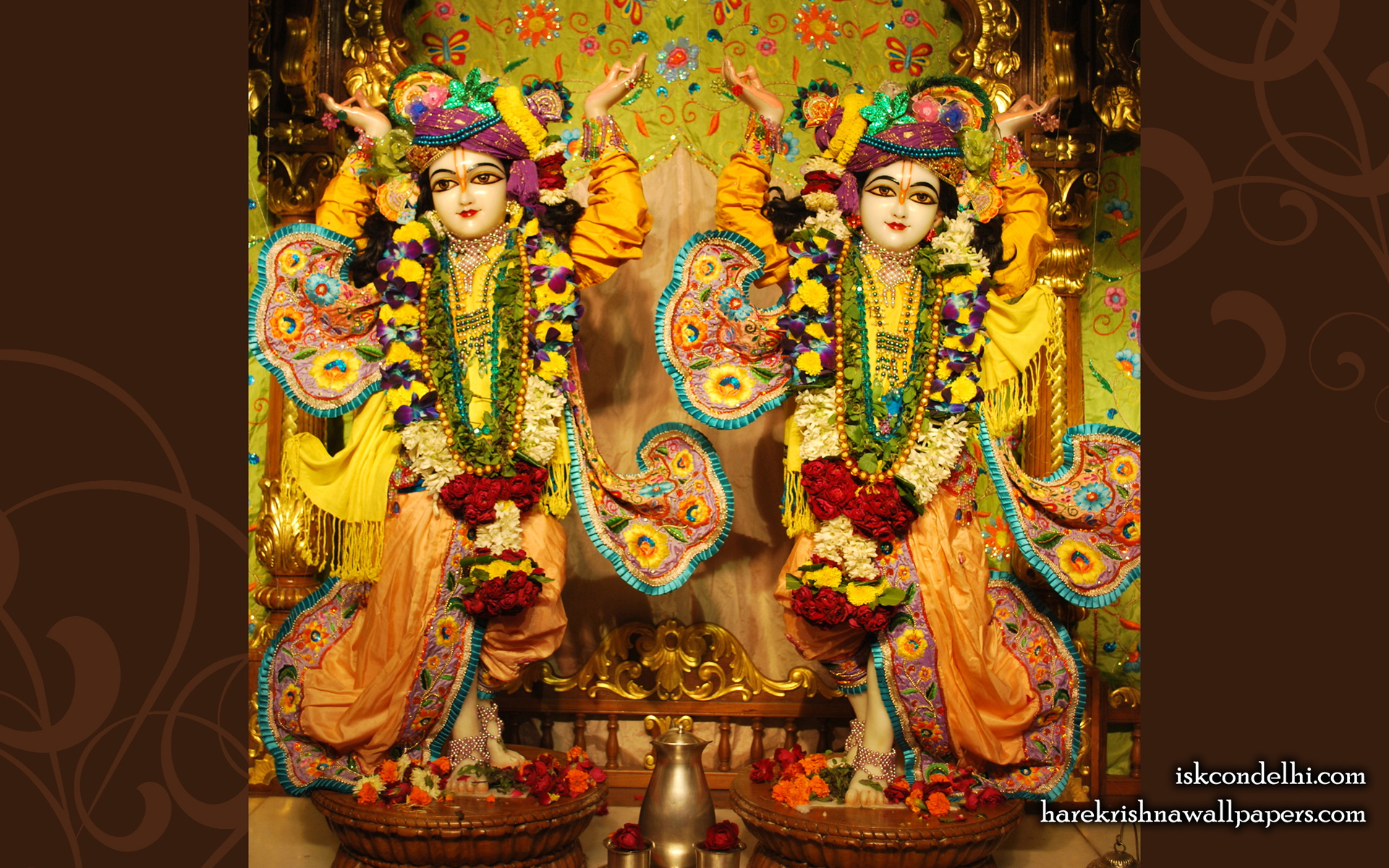 Sri Sri Gaura Nitai Wallpaper (001) Size 1920x1200 Download