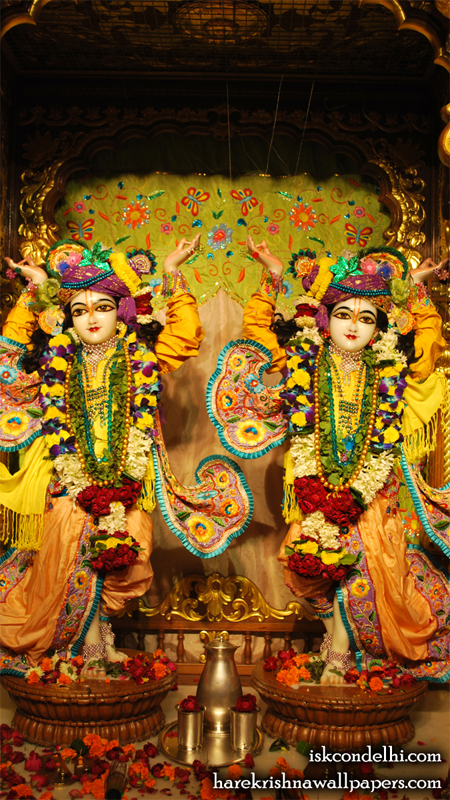 Sri Sri Gaura Nitai Wallpaper (001) Size 450x800 Download