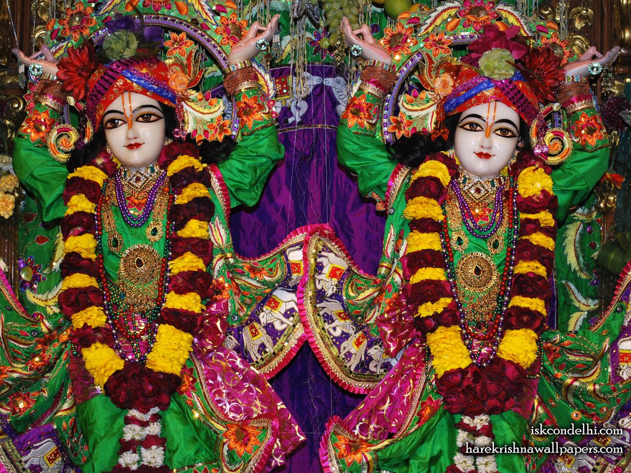 Sri Sri Gaura Nitai Close up Wallpaper (001) Size 1280x960 Download