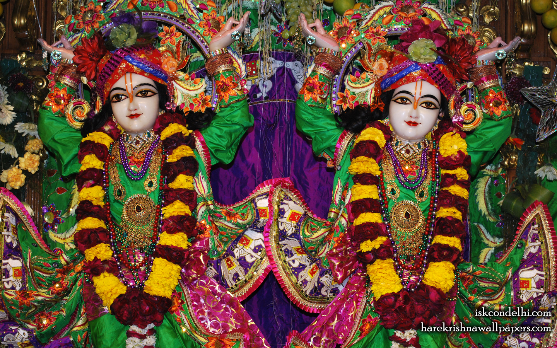 Sri Sri Gaura Nitai Close up Wallpaper (001) Size 1440x900 Download