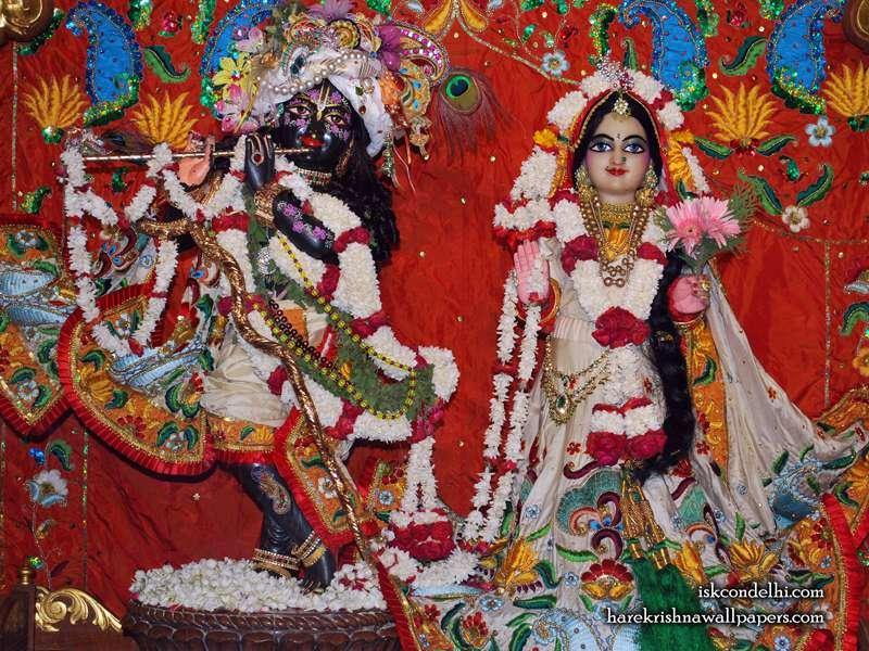 Sri Sri Radha Parthasarathi Wallpaper (001)
