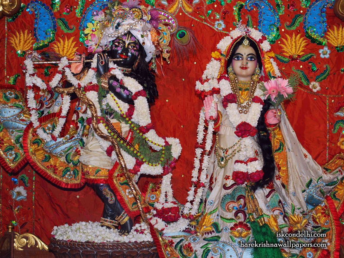 Sri Sri Radha Parthasarathi Wallpaper (001) Size 1152x864 Download