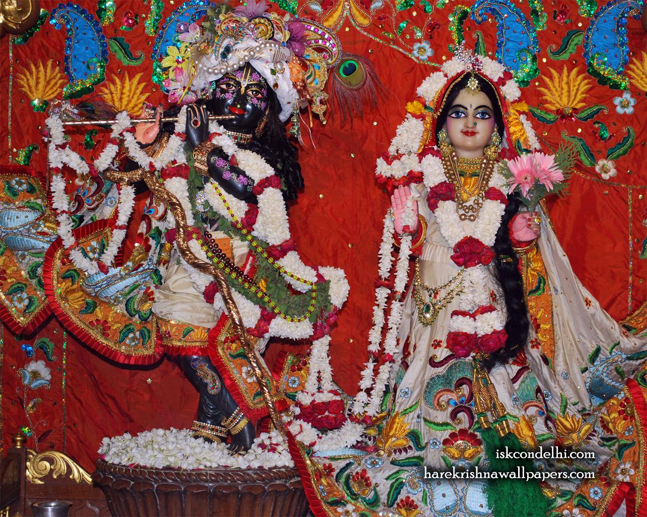Sri Sri Radha Parthasarathi Wallpaper (001) Size 1280x1024 Download