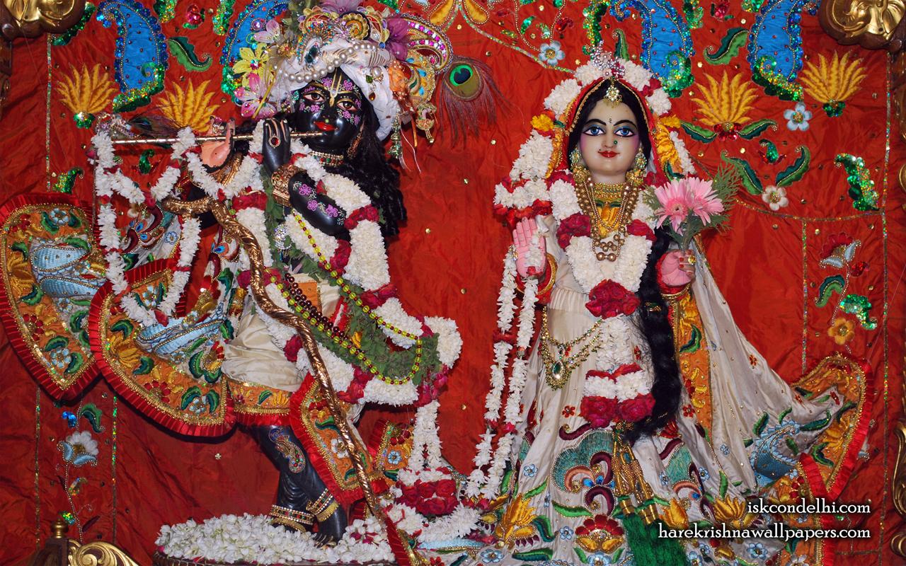 Sri Sri Radha Parthasarathi Wallpaper (001) Size 1280x800 Download
