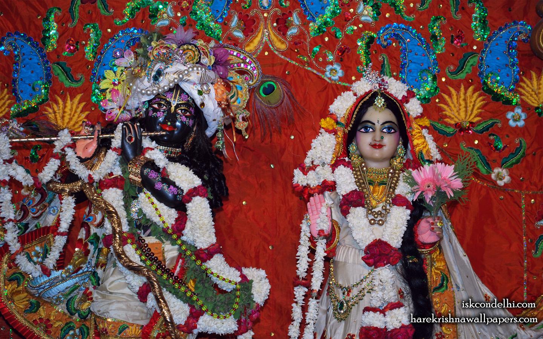 Sri Sri Radha Parthasarathi Close up Wallpaper (001) Size 1440x900 Download