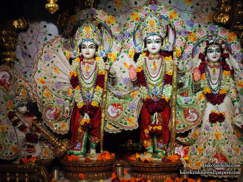 Sri Sri Sita Rama Laxman Hanuman Wallpaper (001) Size 800x600 Download