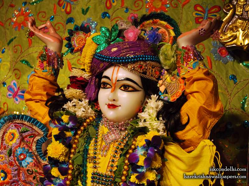 Sri Gaura Close up Wallpaper (002)