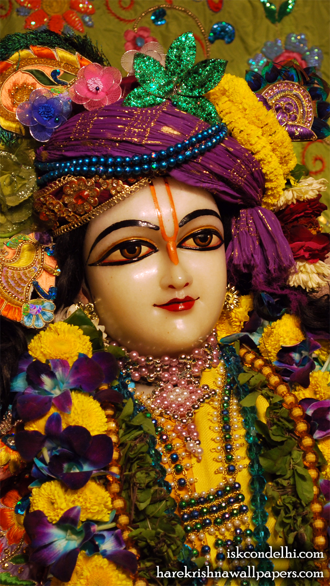 Sri Nitai Close up Wallpaper (002) Size 675x1200 Download