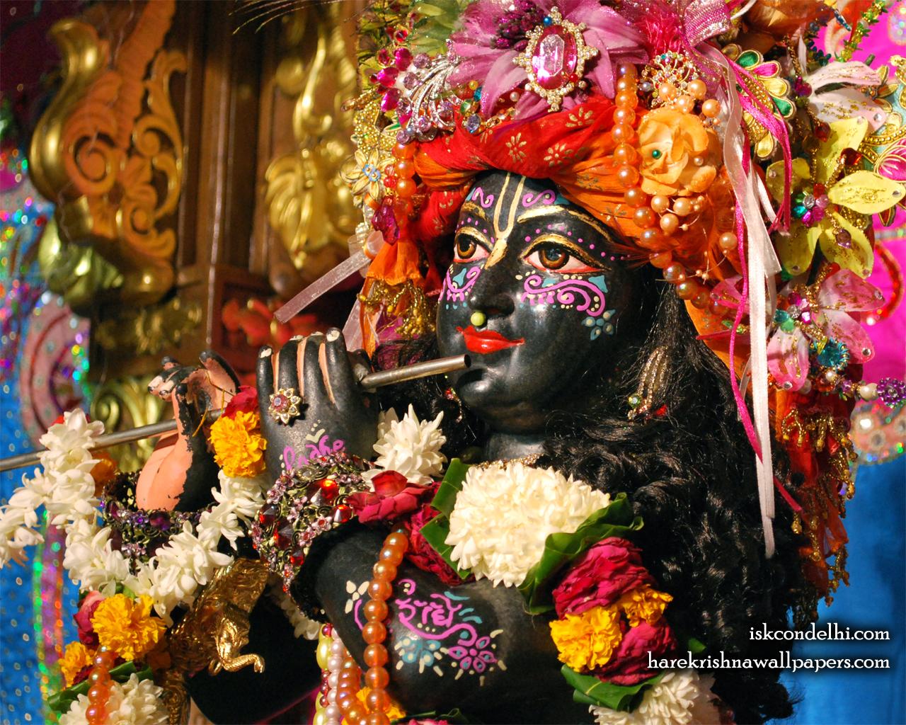 Sri Parthasarathi Close up Wallpaper (002) Size 1280x1024 Download