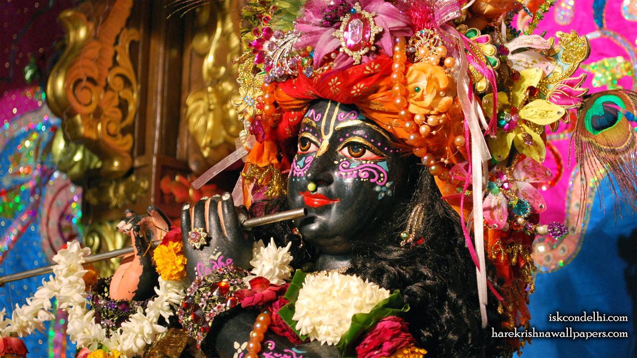 Sri Parthasarathi Close up Wallpaper (002) Size1280x720 Download