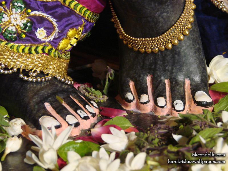 Sri Parthasarathi Feet Wallpaper (002)