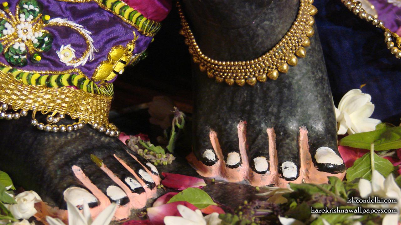 Sri Parthasarathi Feet Wallpaper (002) Size1280x720 Download