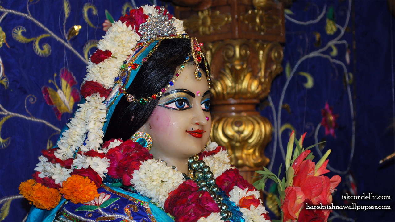 Sri Radha Close up Wallpaper (002) Size1280x720 Download