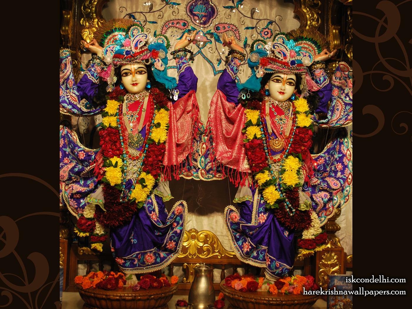 Sri Sri Gaura Nitai Wallpaper (002) Size 1400x1050 Download