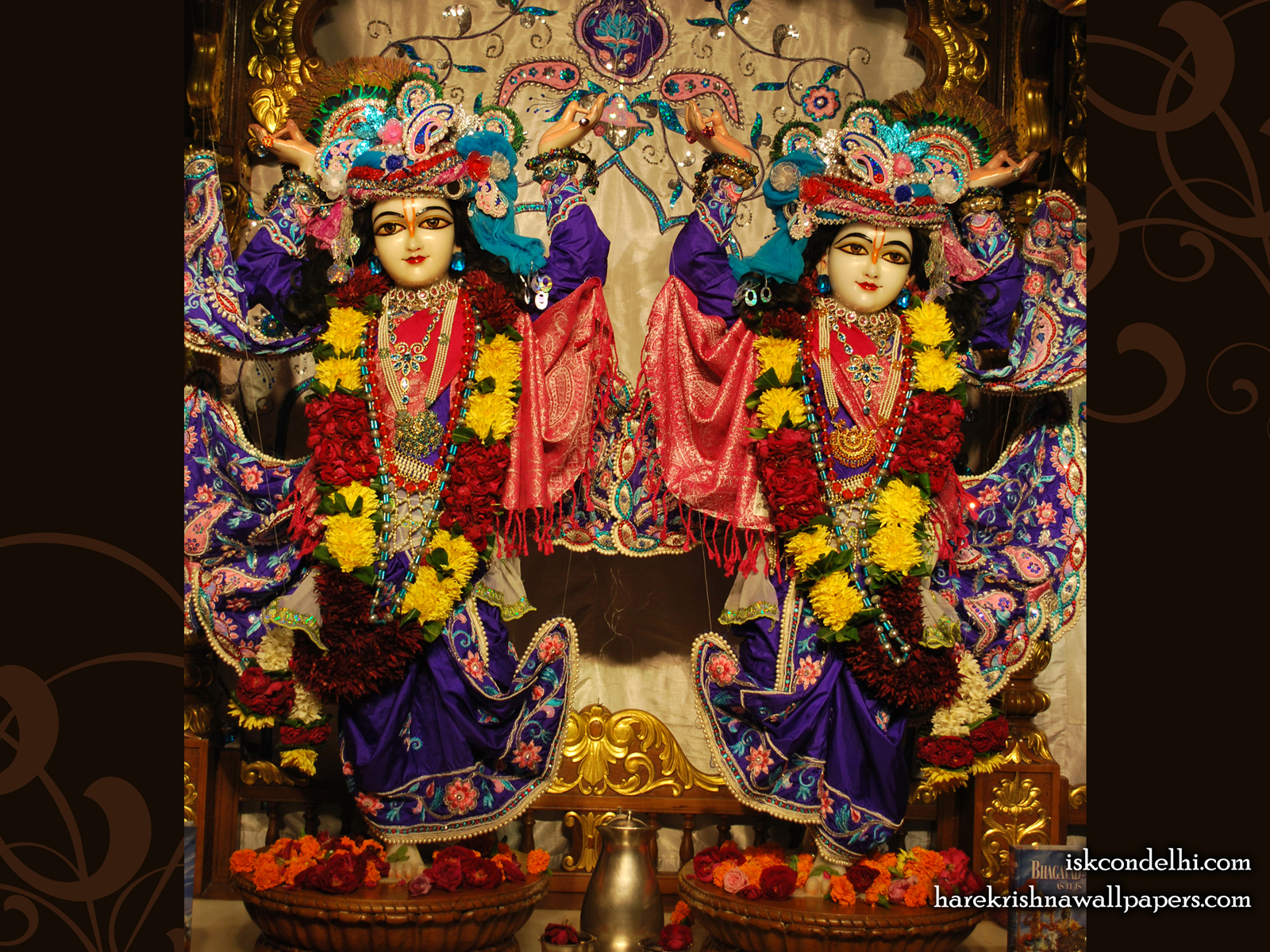 Sri Sri Gaura Nitai Wallpaper (002) Size1600x1200 Download