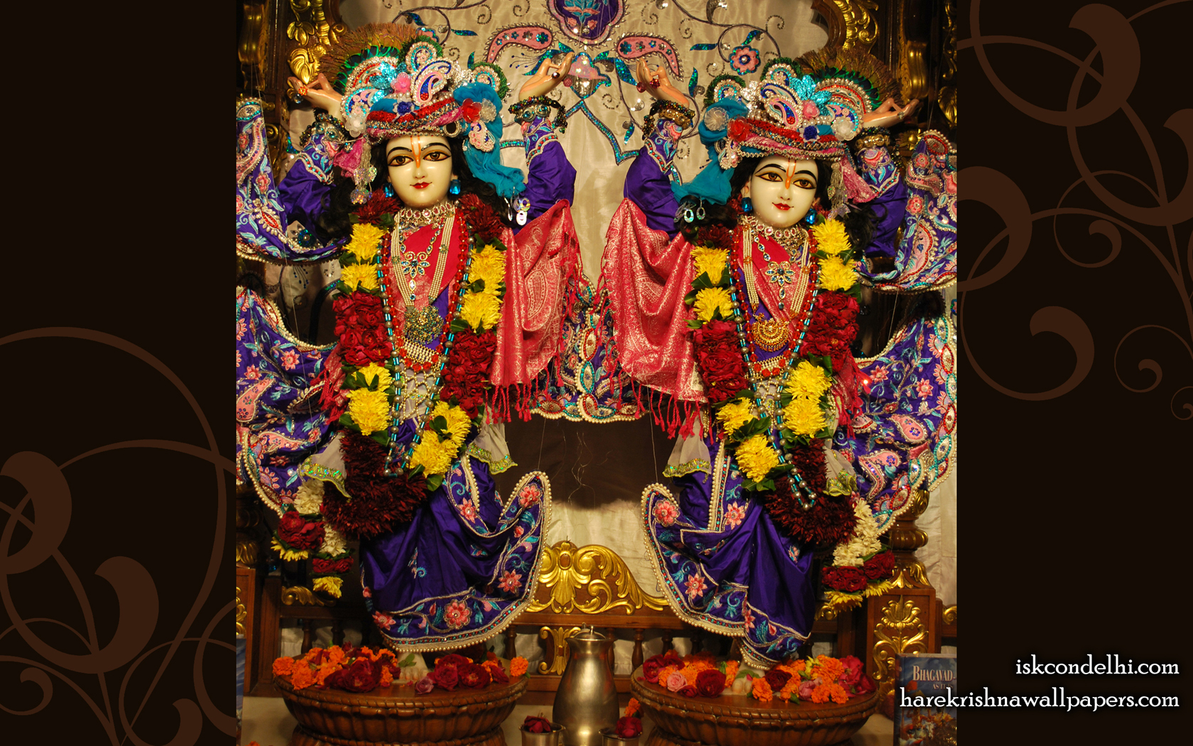 Sri Sri Gaura Nitai Wallpaper (002) Size 1680x1050 Download
