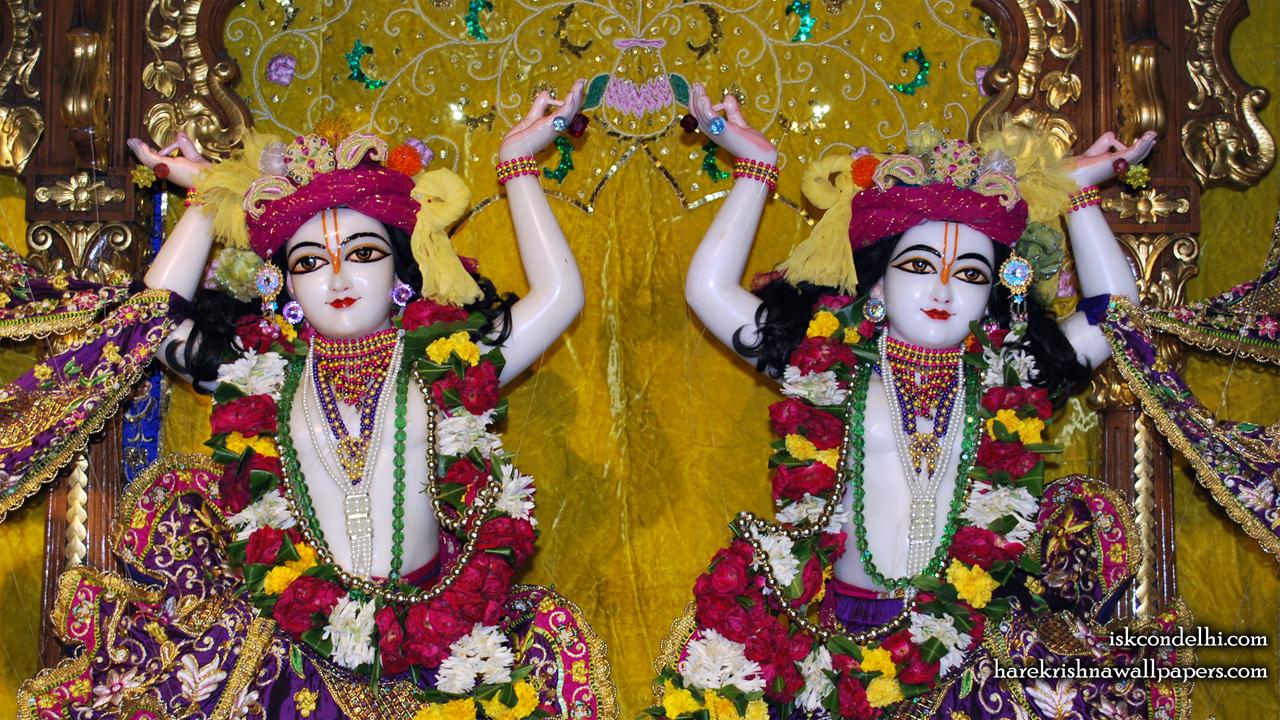 Sri Sri Gaura Nitai Close up Wallpaper (002) Size1280x720 Download