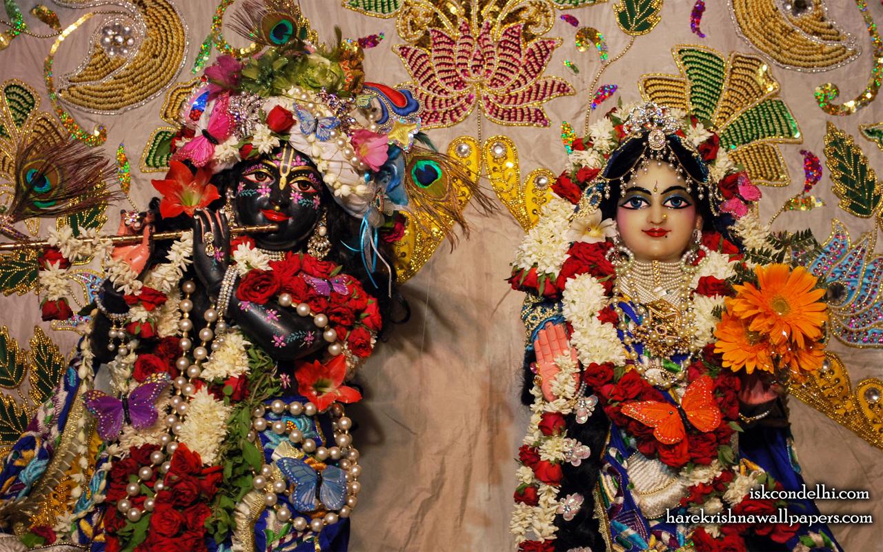 Sri Sri Radha Parthasarathi Close up Wallpaper (002) Size 1280x800 Download