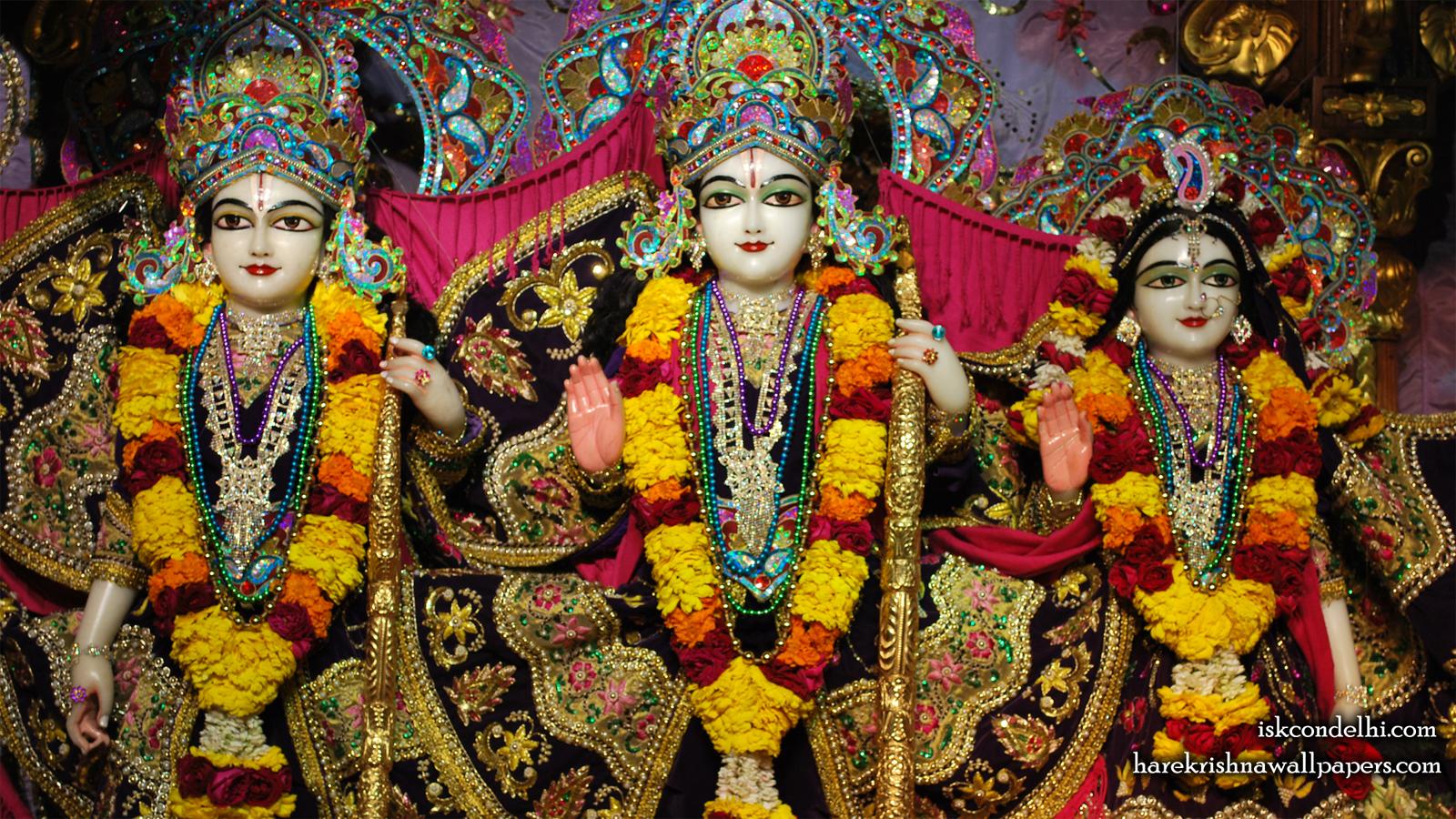 Sri Sri Sita Rama Laxman Wallpaper (002) Size 1600x900 Download