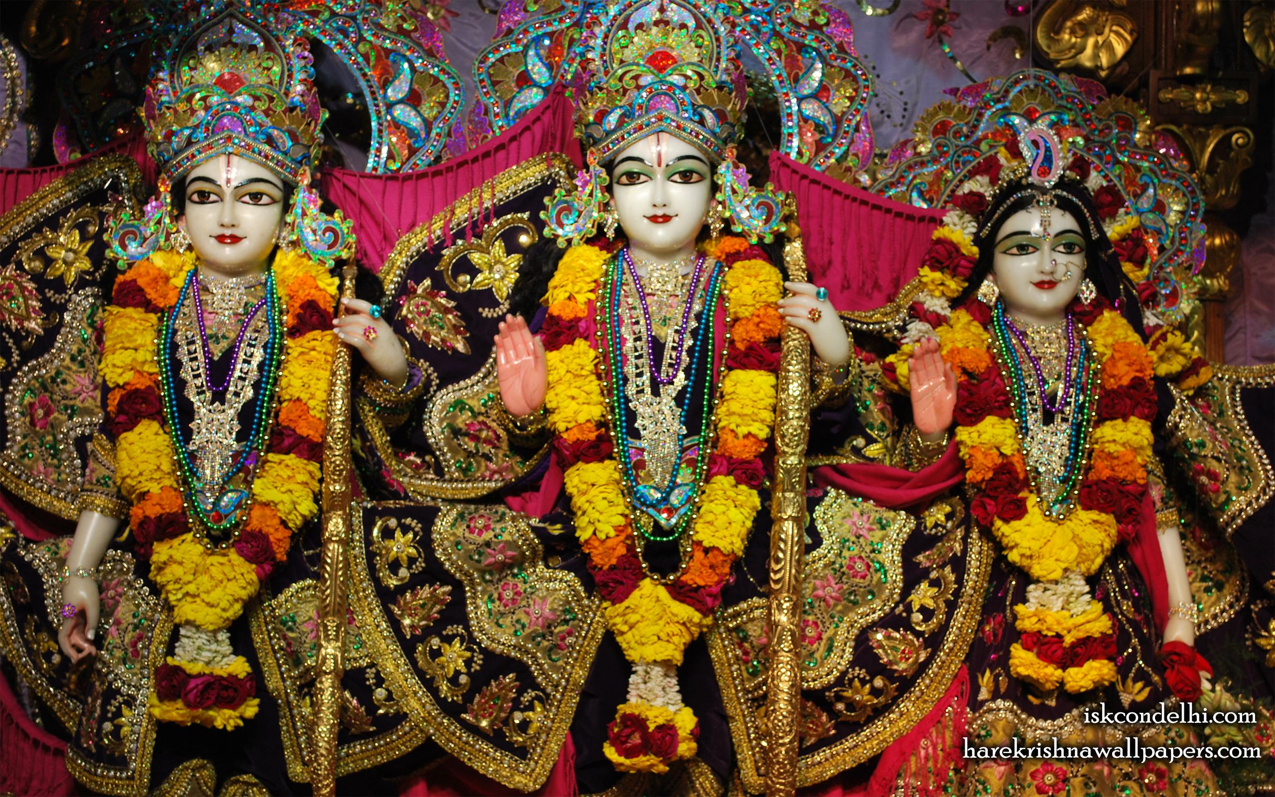 Sri Sri Sita Rama Laxman Wallpaper (002) Size 2560x1600 Download