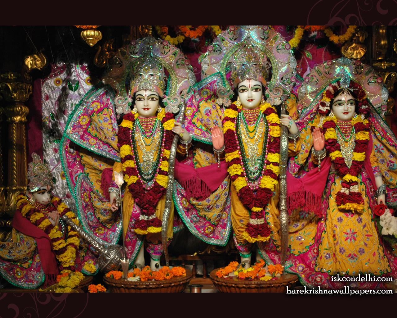 Sri Sri Sita Rama Laxman Hanuman Wallpaper (002) Size 1280x1024 Download