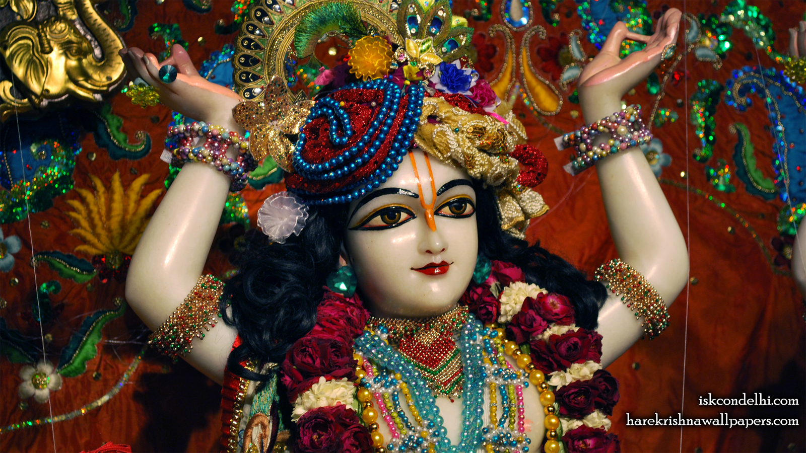 Sri Nitai Close up Wallpaper (003) Size 1600x900 Download