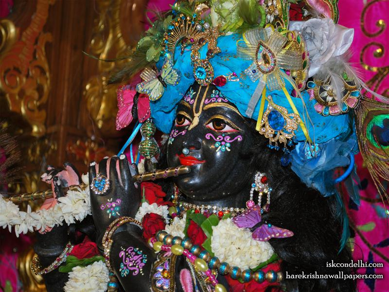 Sri Parthasarathi Close up Wallpaper (003)