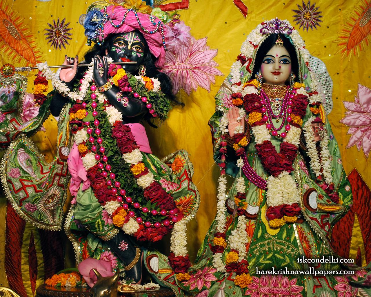 Sri Sri Radha Parthasarathi Wallpaper (003) Size 1280x1024 Download