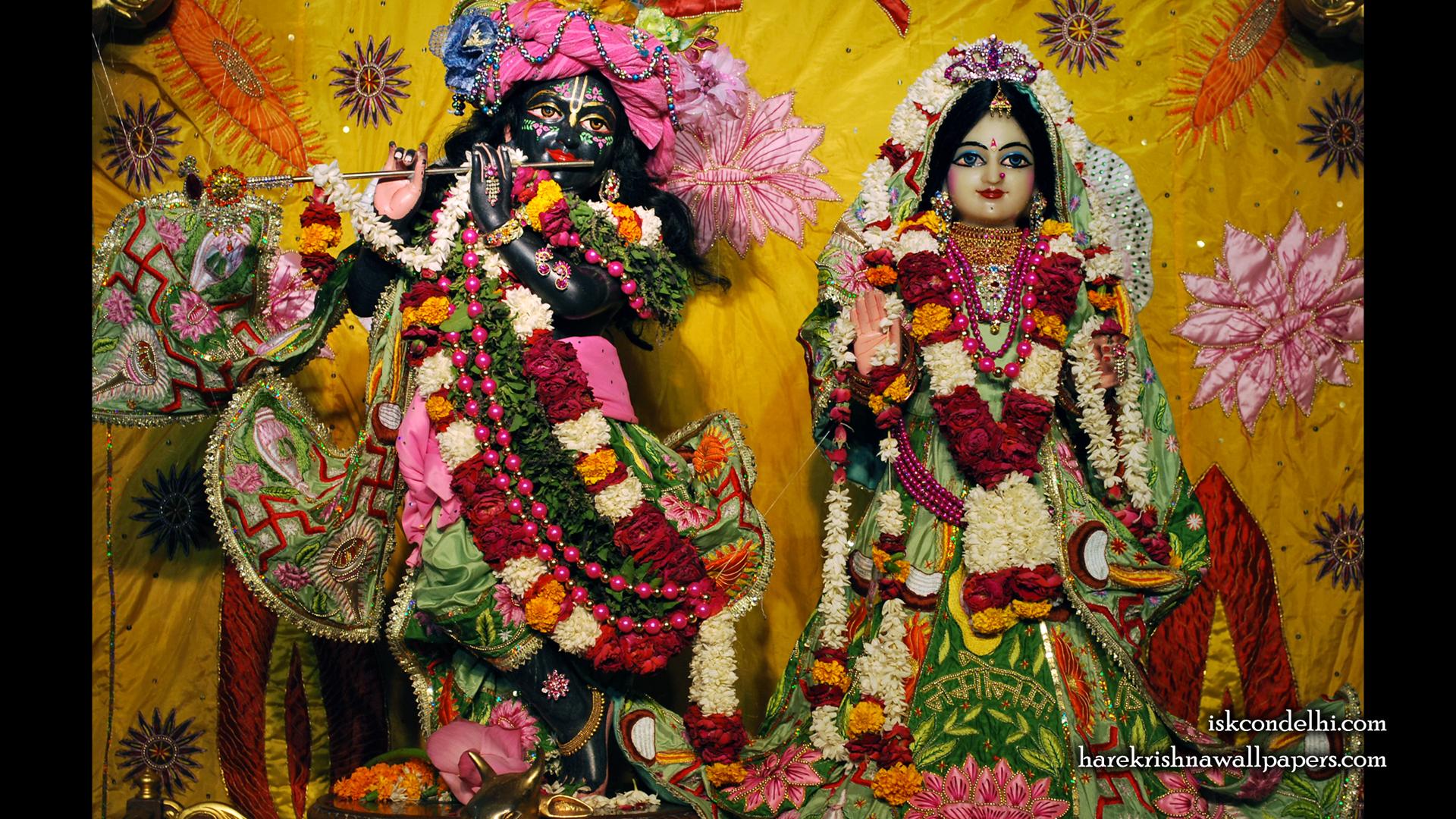 Sri Sri Radha Parthasarathi Wallpaper (003) Size 1920x1080 Download