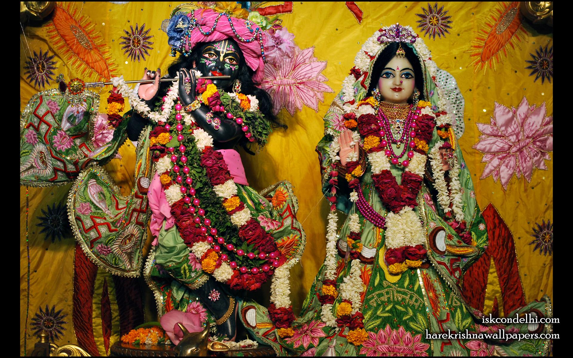 Sri Sri Radha Parthasarathi Wallpaper (003) Size 1920x1200 Download