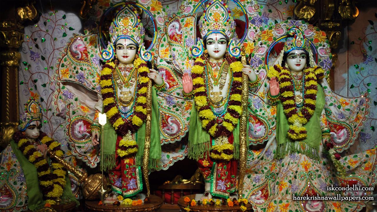 Sri Sri Sita Rama Laxman Hanuman Wallpaper (003) Size1280x720 Download