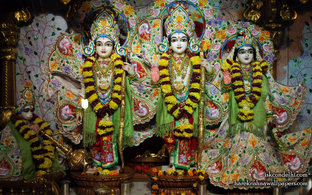 Sri Sri Sita Rama Laxman Hanuman Wallpaper (003) Size 1280x800 Download