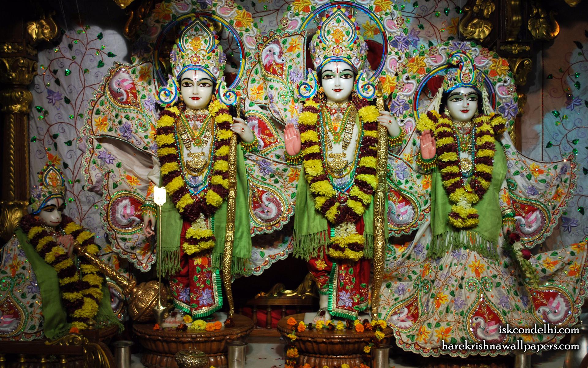 Sri Sri Sita Rama Laxman Hanuman Wallpaper (003) Size 1920x1200 Download