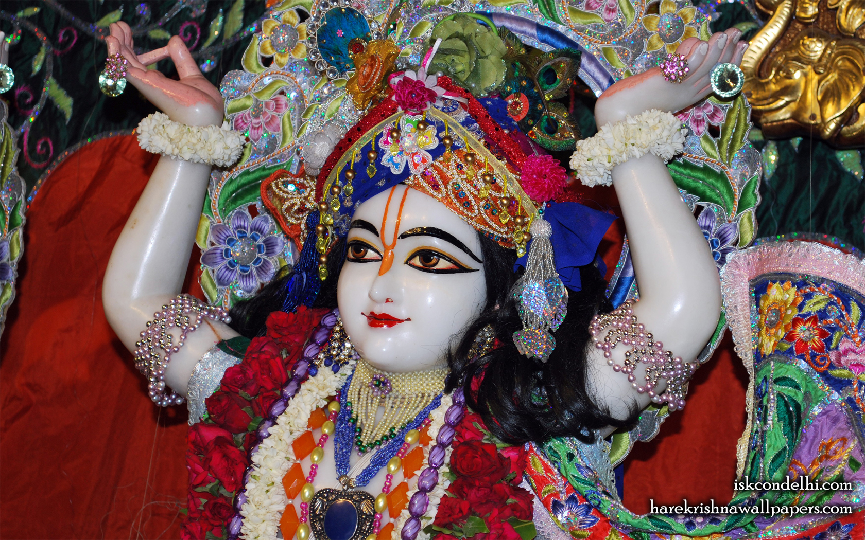 Sri Gaura Close up Wallpaper (004) Size 1680x1050 Download