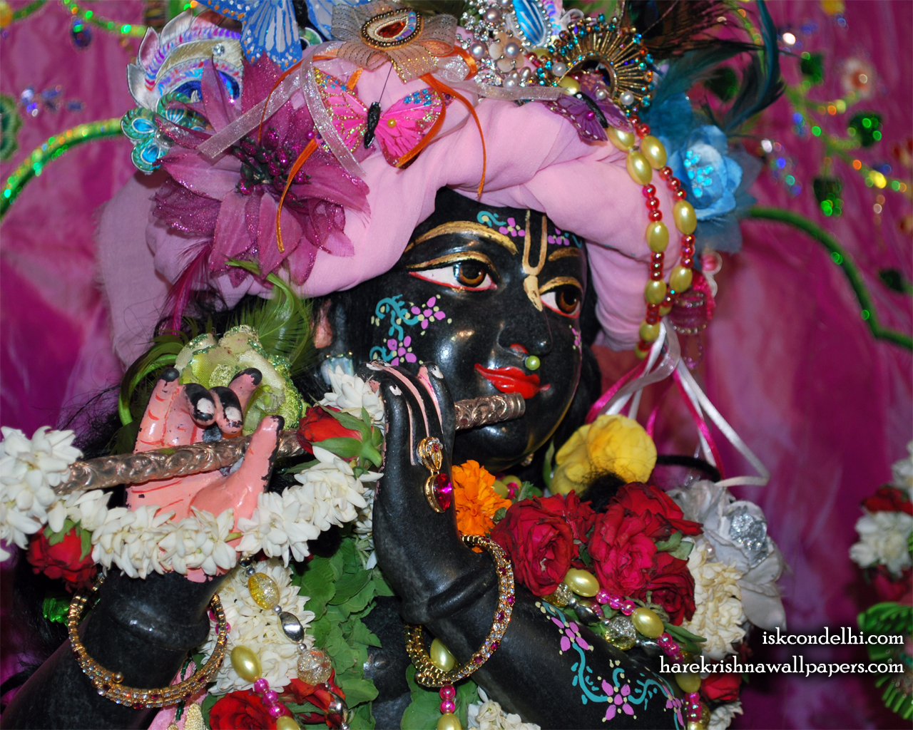 Sri Parthasarathi Close up Wallpaper (004) Size 1280x1024 Download