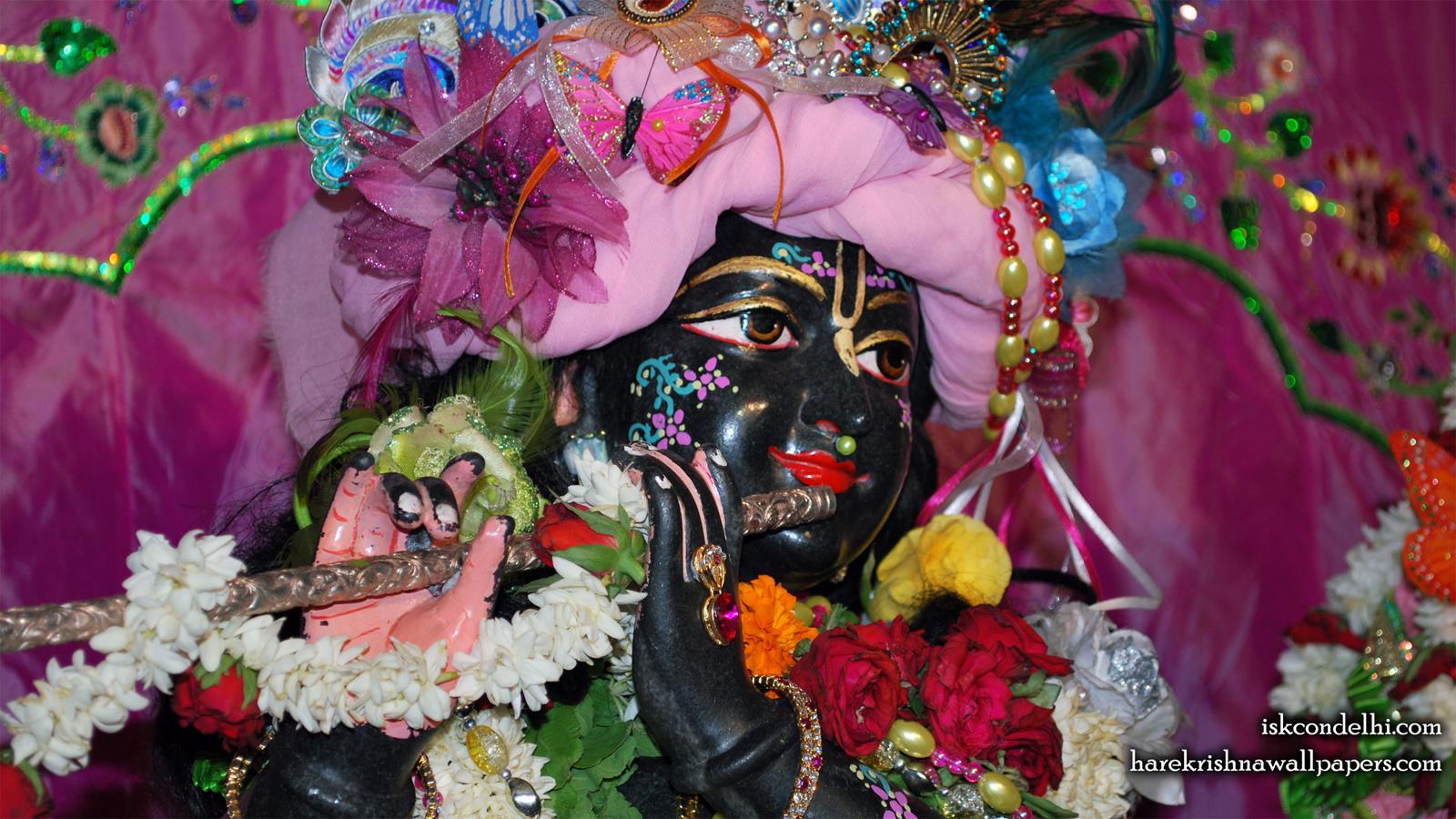 Sri Parthasarathi Close up Wallpaper (004) Size 1600x900 Download