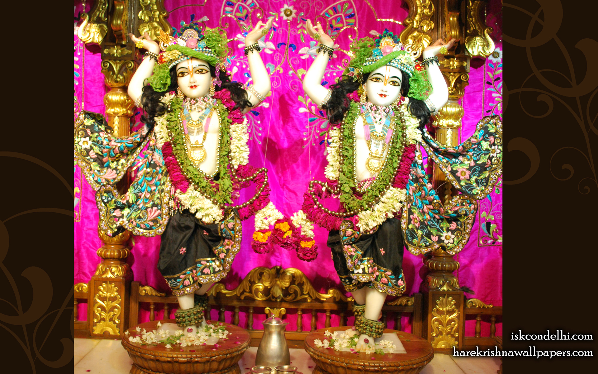 Sri Sri Gaura Nitai Wallpaper (004) Size 1920x1200 Download