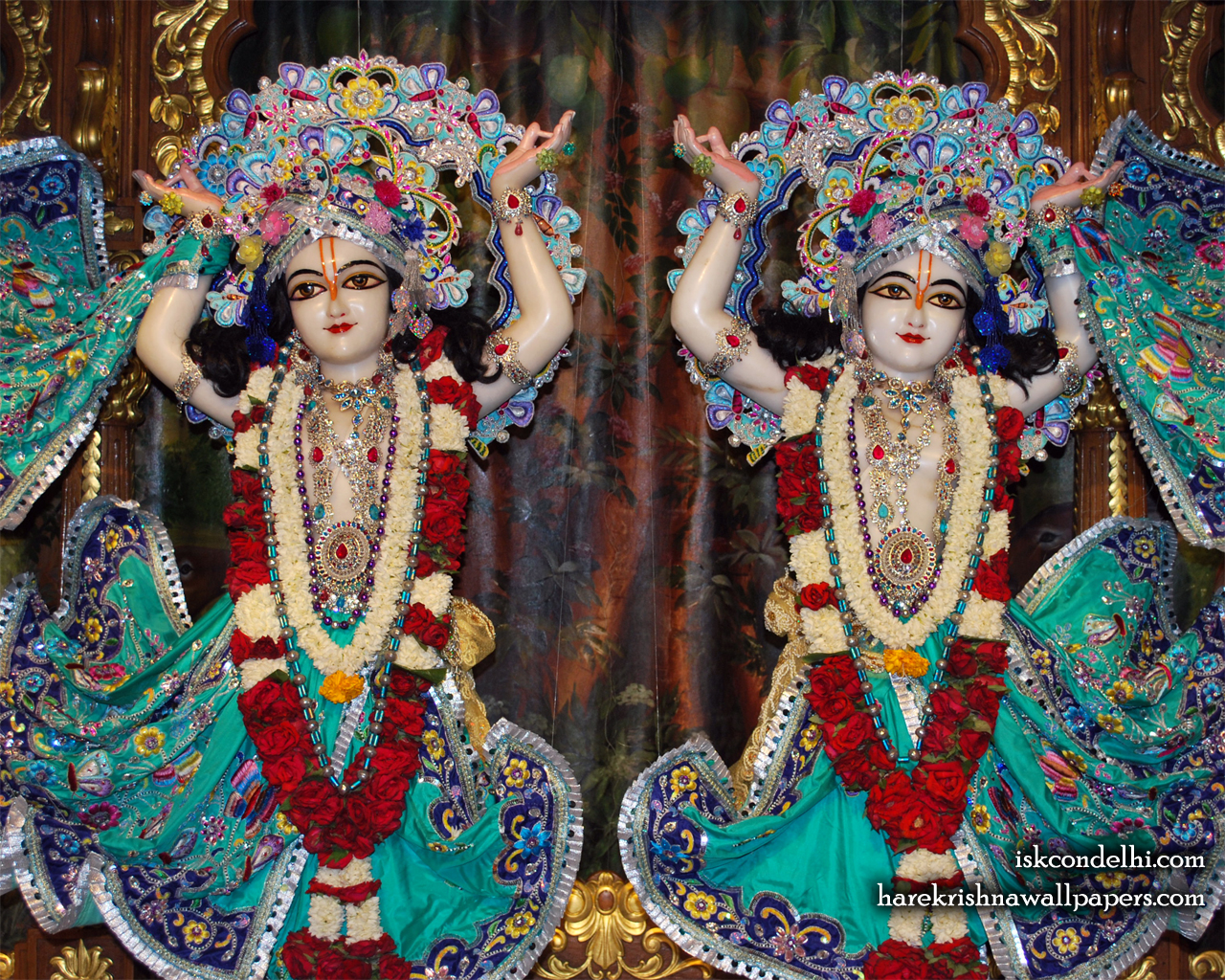 Sri Sri Gaura Nitai Close up Wallpaper (004) Size 1280x1024 Download